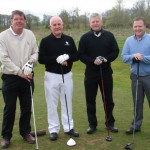 Bruce Bailie, Brendan Clarke, Chris Downing and Bob Esler (Ulster Bank)