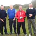 James McKervill, Jim Flanagan, Richard O'Melvena and Willie McKean (First Trust Bank)