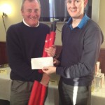 Willie McKean receives the third place prize on behalf of First Trust Bank