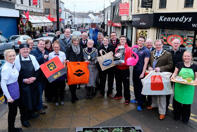 Gift Box Ballymena : Ballymena fights back against empty town claim